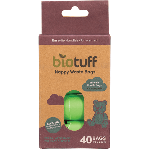 Biotuff Nappy Waste Bags | Eco Products Online | Online Vegan Store