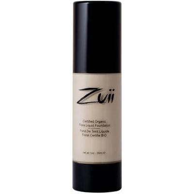 Zuii Organic Flora Liquid Foundation 30ml - various skin tones - The Vegan Town