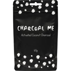 Charcoal Me Steam Activated Coconut Charcoal Powder 60g