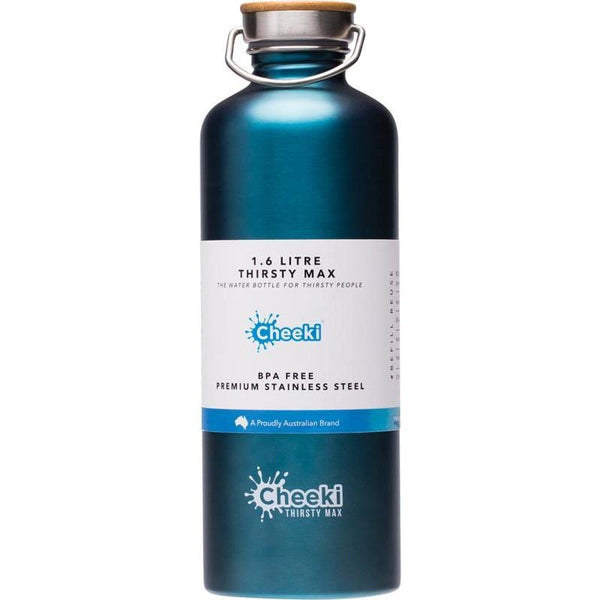 1.6lt Stainless Steel Drink Bottle Teal