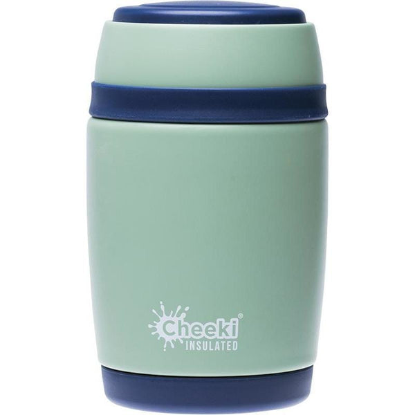 Cheeki Insulated Food Jar 480ml - in various colours - The Vegan Town