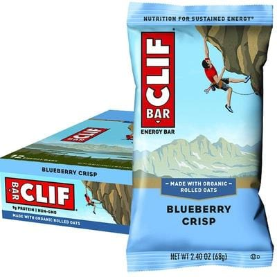 CLIF Bar 68g x 12 bars - In various flavours
