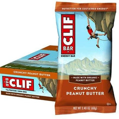CLIF Bar 68g x 12 bars - In various flavours - The Vegan Town