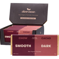 Chow Cacao Raw Organic Chocolate Bars 40g