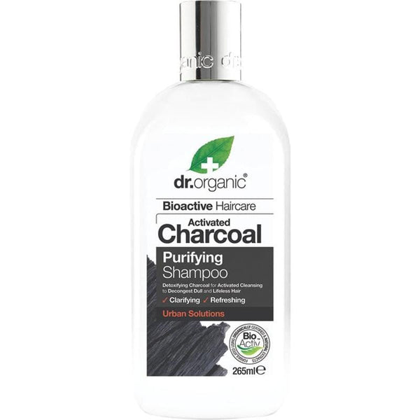 Dr Organic Activated Charcoal Shampoo & Conditioner 265ml - The Vegan Town