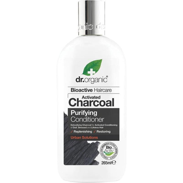 Dr Organic Activated Charcoal Shampoo & Conditioner 265ml