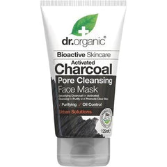 Dr Organic Activated Charcoal Face Mask 125ml - The Vegan Town