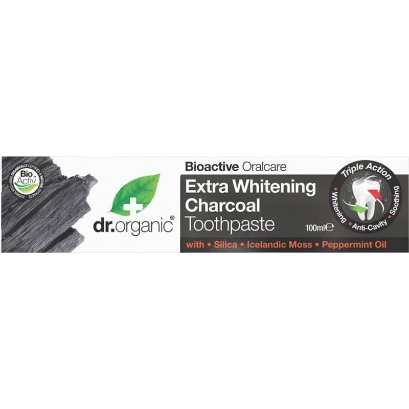 Dr Organic Activated Charcoal Toothpaste 100ml
