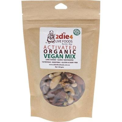 2Die4 Activated Organic Vegan Mix - various sizes available - The Vegan Town