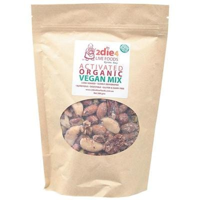 2Die4 Activated Organic Vegan Mix - various sizes available -  Vegan health food online