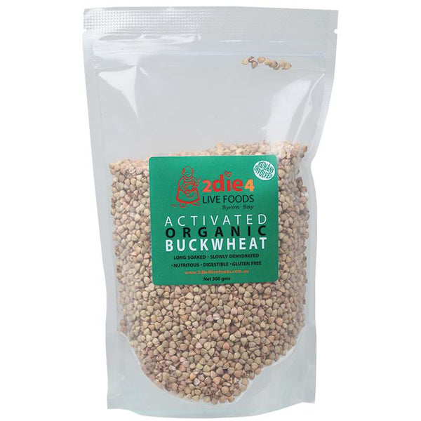 2Die4 Activated Organic Buckwheat - various sizes available