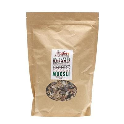 2Die4 Activated Organic Muesli - available in various sizes