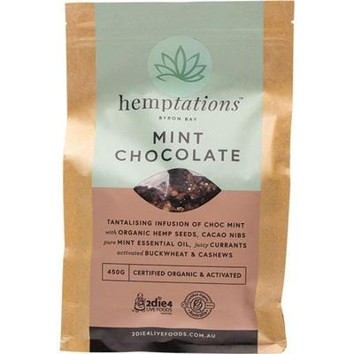2Die4 Hemptations Mint Chocolate - vegan food online
