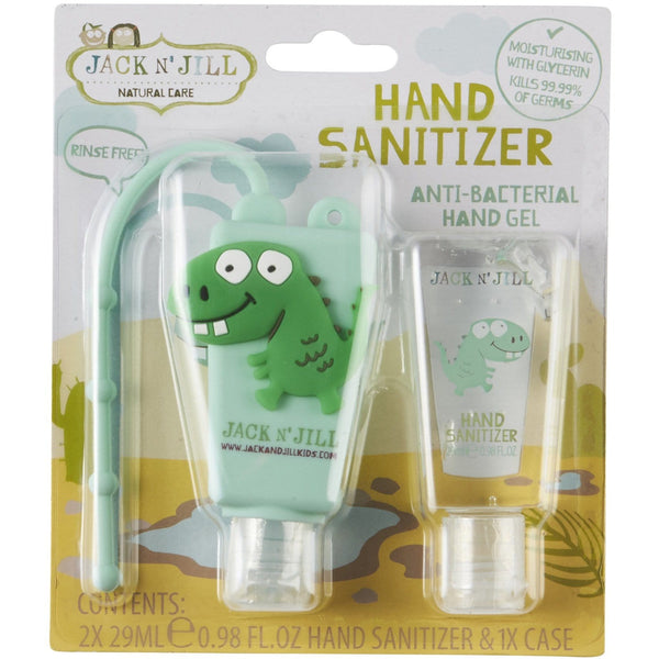 Jack N' Jill Dino Hand Sanitiser 2.29ml - The Vegan Town