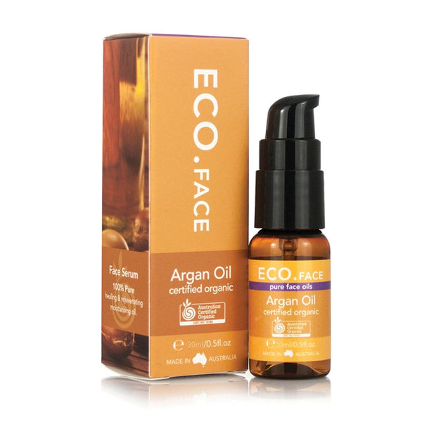 Eco Modern Essentials Face Certified Organic Face oil Argan 30ml | Vegan Beauty | Vegan Skincare - The Vegan Town