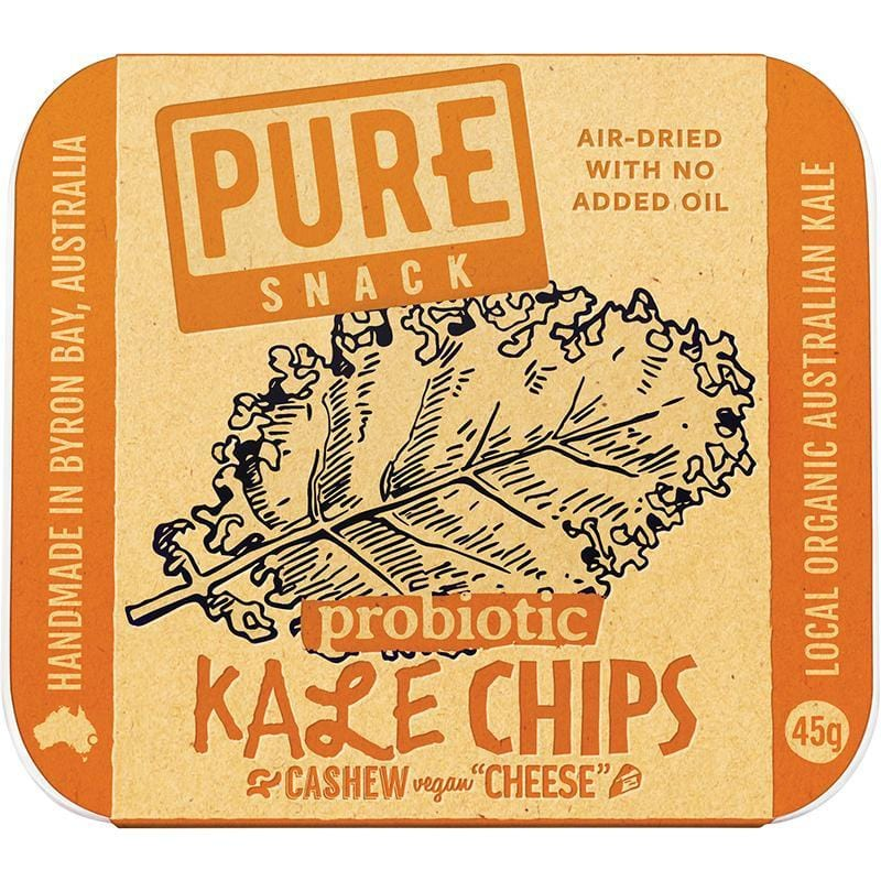 Extraordinary Foods Pure - Kale Chips Cashew 'cheese' 45g - The Vegan Town