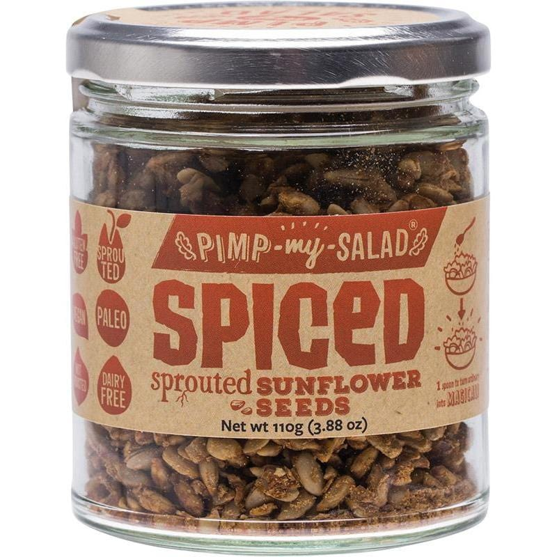 Extraordinary Foods Pimp My Salad Spiced Sprouted Sunflower Seeds 110g
