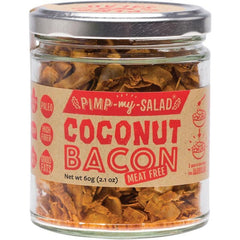 Extraordinary Foods Pimp My Salad Coconut Bacon 60g - The Vegan Town