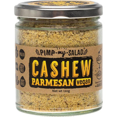 Extraordinary Foods Pimp My Salad Cashew Parmesan 120g - The Vegan Town