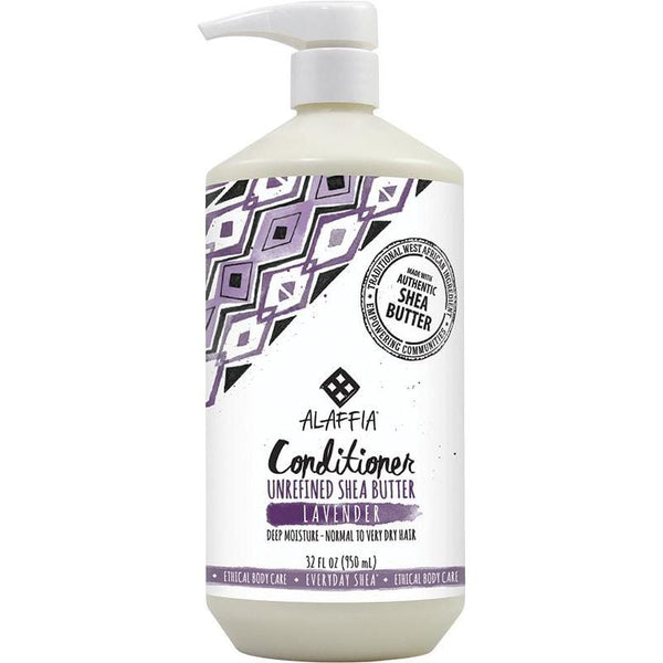 Alaffia Shea Butter Conditioner 950ml - Vegan beauty products
