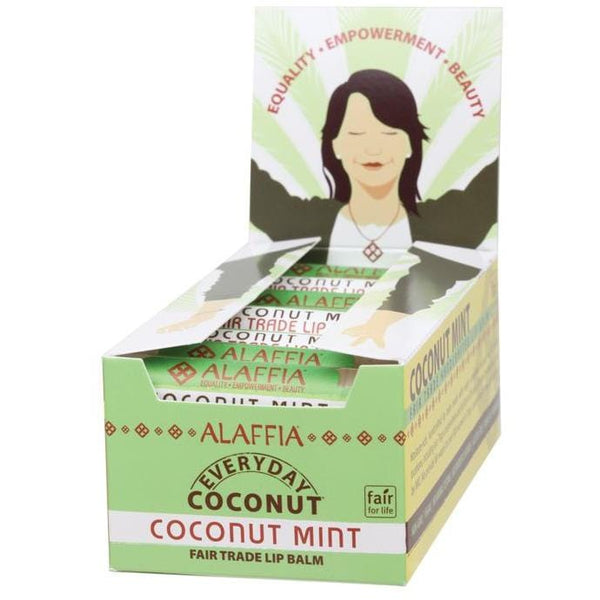 Alaffia Coconut Lip Balm 4.25g - The Vegan Town