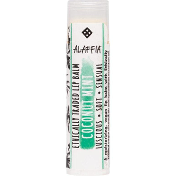 Alaffia Coconut Lip Balm 4.25g - Vegan beauty products