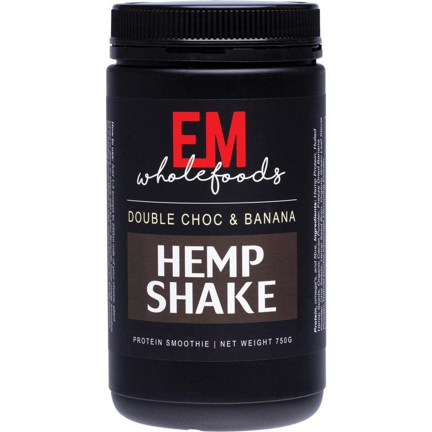 EM Wholefoods Hemp Shake 750g - in various flavours - The Vegan Town