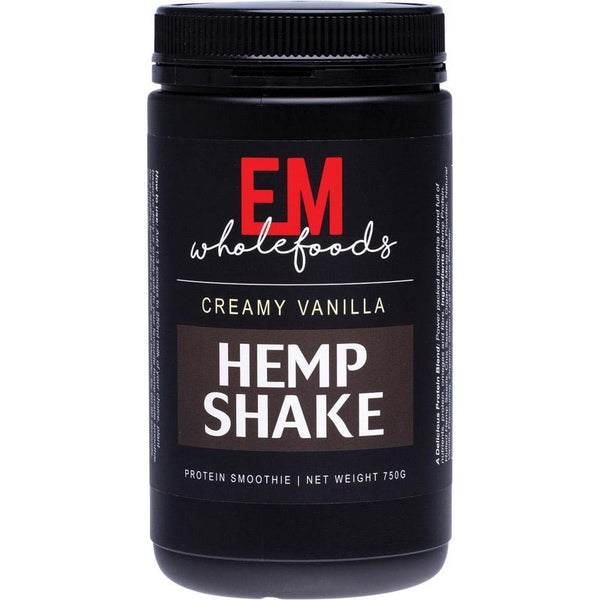 EM Wholefoods Hemp Shake 750g - in various flavours