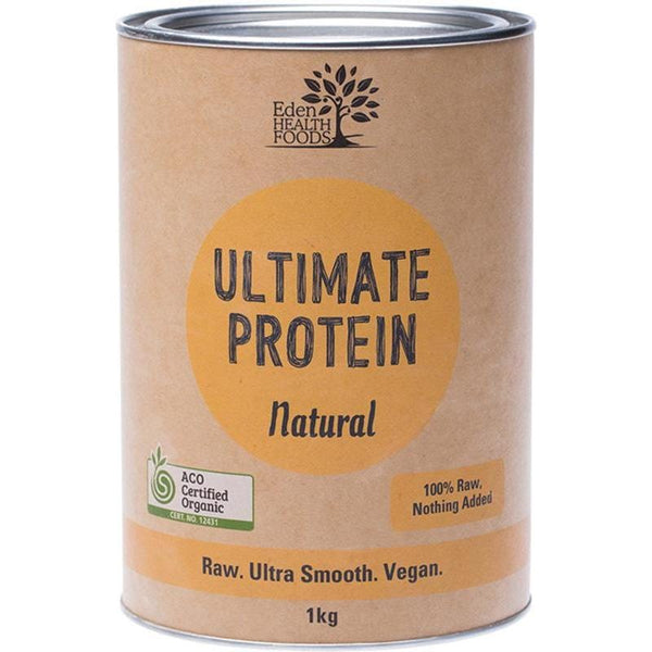 Eden Healthfoods Ultimate Protein Sprouted Brown Rice Natural - in various sizes - The Vegan Town