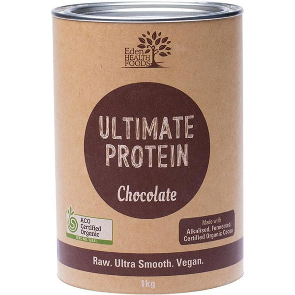 Eden Healthfoods Ultimate Protein Sprouted Brown Rice Chocolate - in various sizes - The Vegan Town