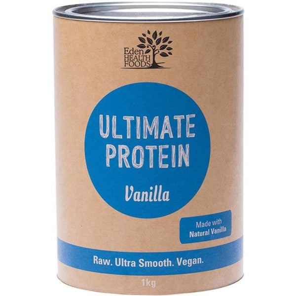 Eden Healthfoods Ultimate Protein Sprouted Brown Rice Vanilla - in various sizes - The Vegan Town