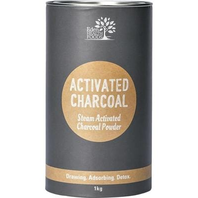 Eden Healthfoods Steam Activated Charcoal Powder - in various sizes - The Vegan Town