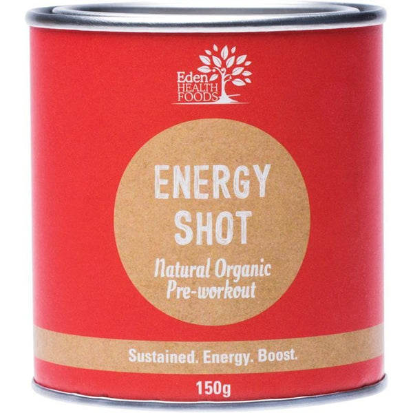 Eden Healthfoods Pre-Workout Energy Shot 150g - The Vegan Town