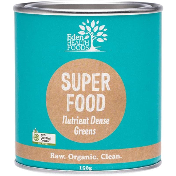 Eden Healthfoods Superfood Certified Organic Greens Powder - in various sizes - The Vegan Town