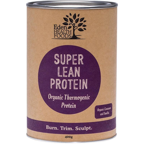 Eden Healthfoods Super Lean Protein Cinnamon & Vanilla - in various sizes