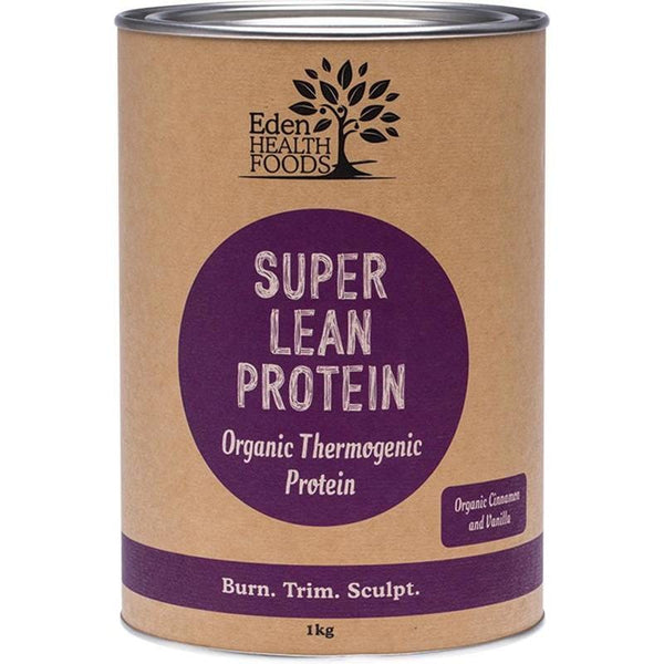 Eden Healthfoods Super Lean Protein Cinnamon & Vanilla - in various sizes - The Vegan Town
