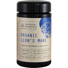 Evolution Botanicals Lion's Mane Extract Cognitive Performance - Organic 12:1 100g
