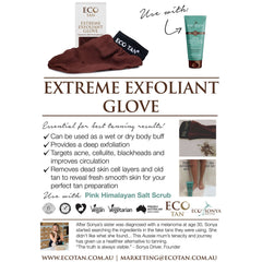 Eco Tan Extreme Exfoliant Glove - The Vegan Town