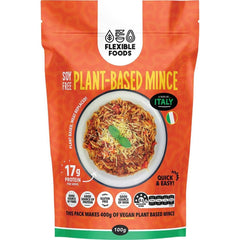 Flexible Foods Soy Free Plant-Based Mince A Taste Of Italy 100g