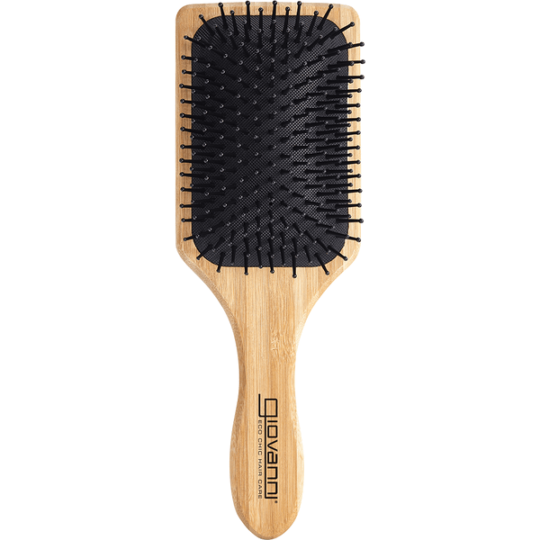 Giovanni Bamboo Hair Brush Paddle - Nylon, Ball-Tipped Bristles with no packaging