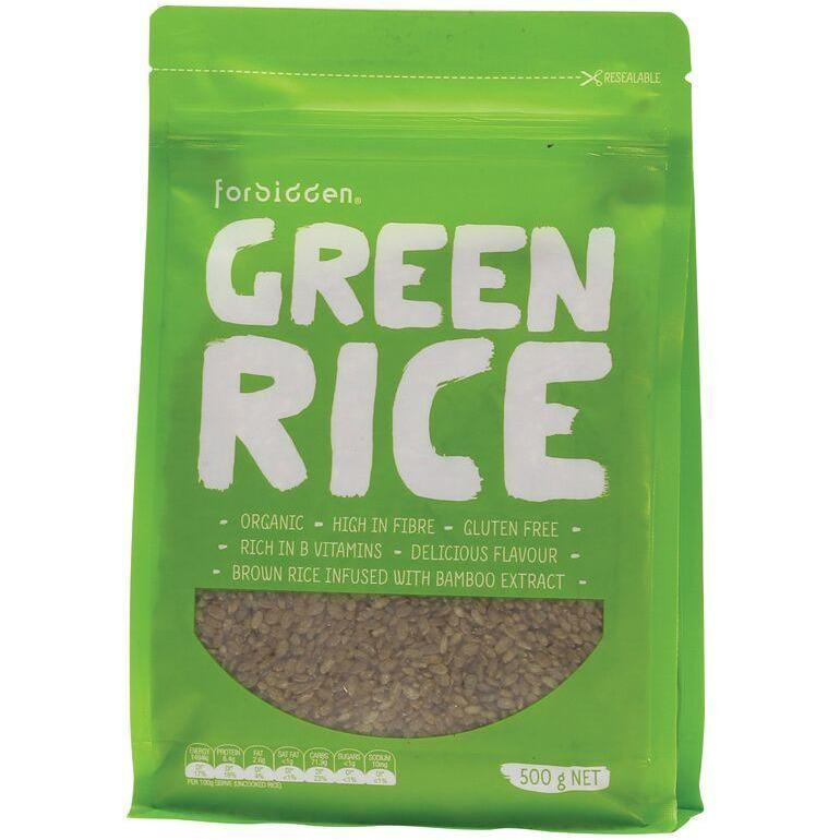 Forbidden Green Rice With Bamboo Extract 500g - The Vegan Town