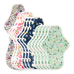 Hannahpad Reusable Cloth Pad Small x 2 Pack - The Vegan Town