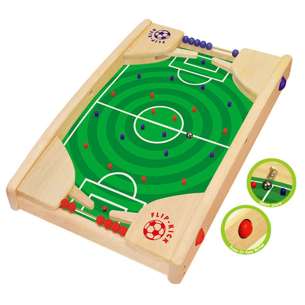 I'm Toy Flip Kick Eco Wooden Toy Game with ball | Educational Toys - The Vegan Town