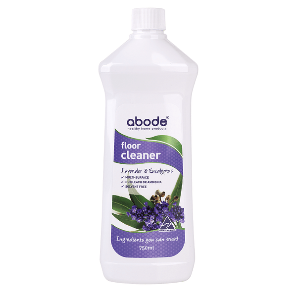 Abode Floor Cleaner - Lavender & Eucalyptus (750ml) - The Vegan Town