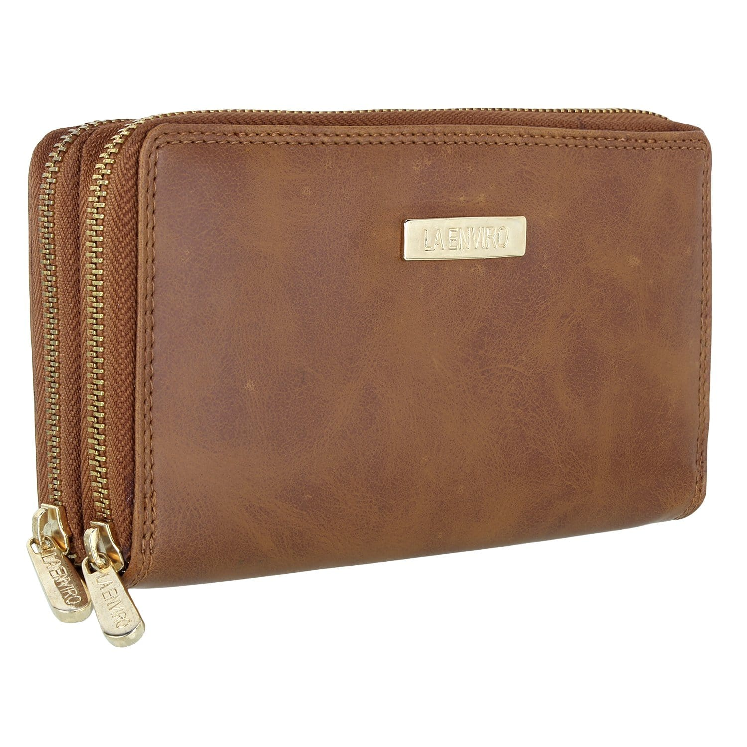 Image of La Enviro Double Zipper Purse