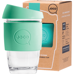 Joco Reusable Glass Cup Xsmall 177ml | Online Vegan Store | Vintage Green Colour