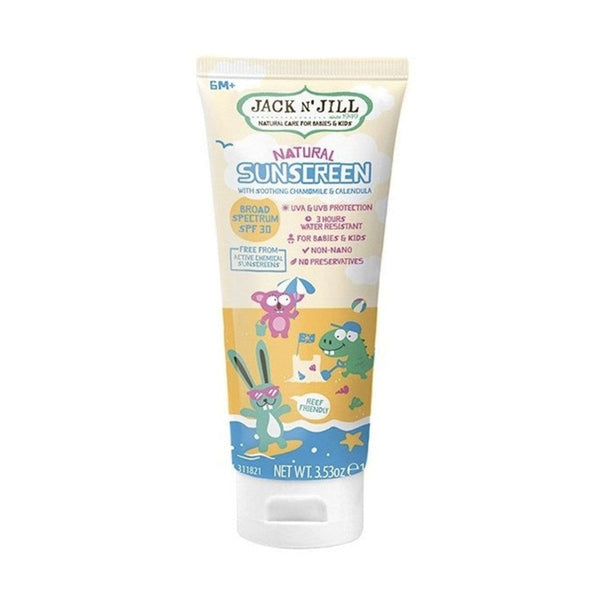 Jack N' Jill Natural Sunscreen SPF 30 100g
