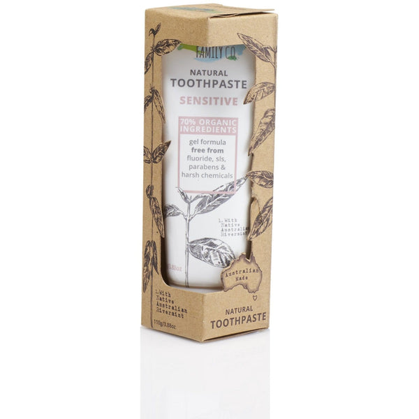 The Natural Family Co Sensitive Toothpaste 110g