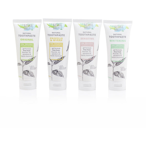 The Natural Family Co Propolis & Myrrh Toothpaste 110g - The Vegan Town