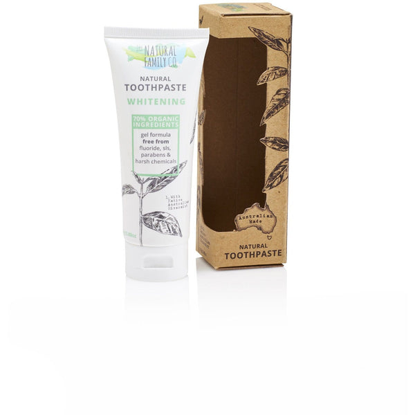 The Natural Family Co Whitening Toothpaste